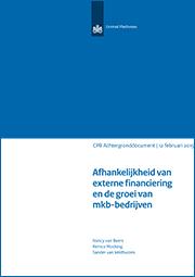 Image for Afhankelijkheid van externe financiering en de groei van mkb-bedrijven