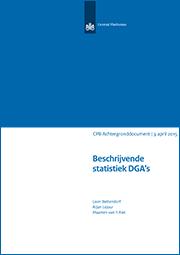 Image for Beschrijvende statistiek DGA's