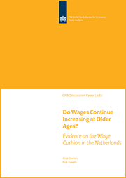 Image for Do Wages Continue Increasing at Older Ages? Evidence on the Wage Cushion in the Netherlands