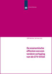 Image for De economische effecten van een verdere verlaging van de LTV-limiet