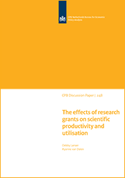 Image for The effects of research grants on scientific productivity and utilisation