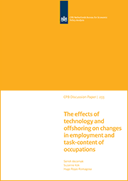 Image for The effects of technology and offshoring on changes in employment and task-content of occupations
