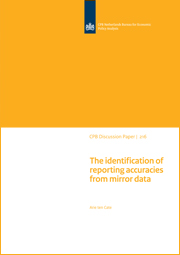 Image for The identification of reporting accuracies from mirror data