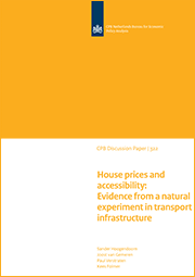 Image for House prices and accessibility: Evidence from a natural experiment in transport infrastructure