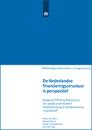 Image for De Nederlandse financieringsstructuur in perspectief