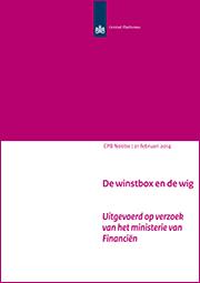 Image for De winstbox en de wig