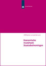 Image for Economische invalshoek Staatsdeelnemingen