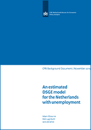 Image for An estimated DSGE model for the Netherlands with unemployment