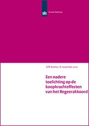 Image for Een nadere toelichting op de koopkrachteffecten van het Regeerakkoord
