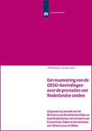 Image for Een nuancering van de OESO-bevindingen over de prestaties van Nederlandse steden