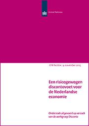 Image for Een risicogewogen discontovoet voor de Nederlandse economie