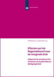 Image for Effecten van het Regeerakkoord voor de marginale druk