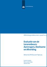 Image for Evaluatie van de Lerarenbeurs: Aanvragers, Deelname en Afronding