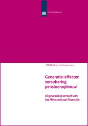 Image for Generatie-effecten versobering pensioenopbouw