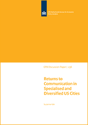 Image for Returns to Communication in Specialised and Diversified US Cities