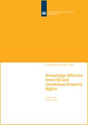 Image for Het effect van nationale bescherming van intellectueel eigendom op kennisdiffusie van multinationals