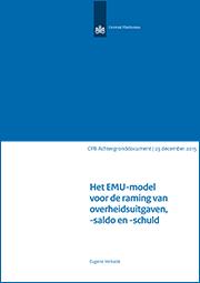 Image for Het EMU-model voor de raming van overheidsuitgaven, -saldo en -schuld