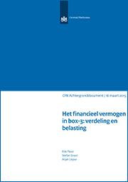 Image for Het financieel vermogen in box-3: verdeling en belasting