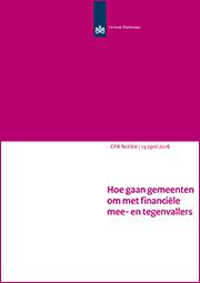 Image for Hoe gaan gemeenten om met financiële mee- en tegenvallers