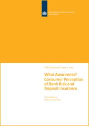Image for Hoezo bekendheid? Consumentenperceptie van risico bij banken en de depositogarantieregeling