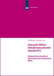 Image for Interactie Milieubeleidsinstrumenten met het ETS