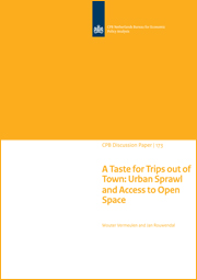 Image for A Taste for Trips out of Town: Urban Sprawl and Access to Open Space