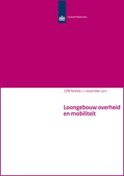 Image for Loongebouw overheid en mobiliteit