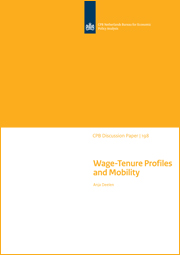 Image for Wage-Tenure Profiles and Mobility