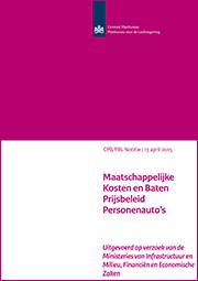 Image for Maatschappelijke Kosten en Baten Prijsbeleid Personenauto's