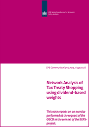 Image for Network Analysis of Tax Treaty Shopping using dividend-based weights