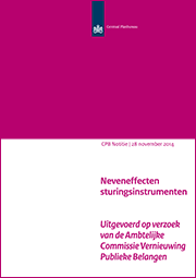 Image for Neveneffecten sturingsinstrumenten