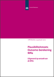 Image for Plausibiliteitstoets Outcome-berekening NMa