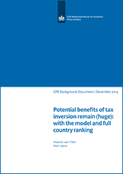 Image for Potential benefits of tax inversion remain (huge): with the model and full country ranking