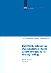 Image for Potentiële baten van 'tax inversion' blijven zeer hoog
