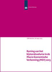 Image for Raming van het bijstandsvolume in de MEV 2015