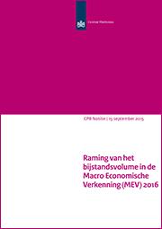 Image for Raming van het bijstandsvolume in de MEV 2016