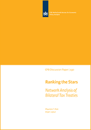 Image for Ranking the Stars: Network Analysis of Bilateral Tax Treaties