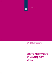 Image for Reactie op Research en Development aftrek
