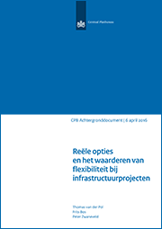 Image for Reële opties en het waarderen van flexibiliteit bij infrastructuurprojecten