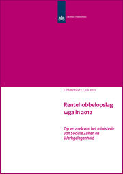 Image for Rentehobbelopslag wga in 2012
