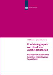 Image for CPB-inbreng rondetafelgesprek wet Houdbare overheidsfinanciën
