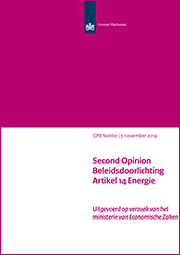 Image for Second Opinion Beleidsdoorlichting Artikel 14 Energie