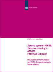 Image for Second opinion MKBA Herstructureringsaanpak Parkstad Limburg