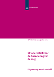 Image for SP-alternatief voor de financiering van de zorg