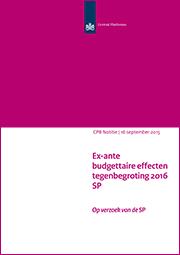 Image for Tegenbegroting 2016 van de SP