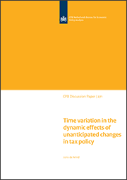 Image for Time variation in the dynamic effects of unanticipated changes in tax policy