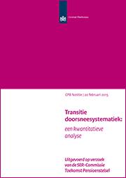 Image for Transitie doorsneesystematiek: een kwantitatieve analyse