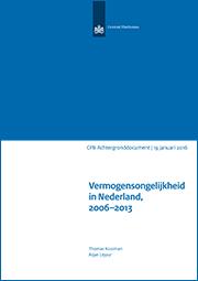 Image for Vermogensongelijkheid in Nederland, 2006-2013
