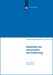 Image for Volatiliteit van consumptie: een verkenning