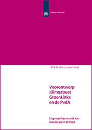 Image for Voorontwerp Klimaatwet GroenLinks en de PvdA